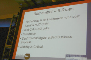 signboard stating rules in technology